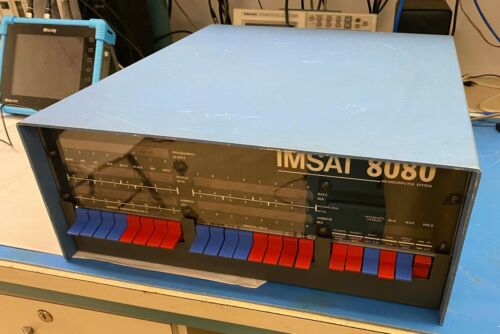 IMSAI 8080 w/ Z80 CPU S-100 Computer with 5 cards