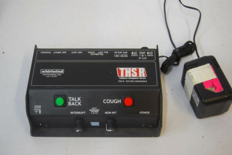 Whirlwind THSR THS-R Talkback Headphone Box #1