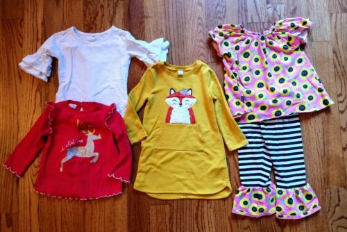 Girls Toddler Size 3t Boutique Outfits Lot. Clothes. Mud Pie, Old Navy. Euc!