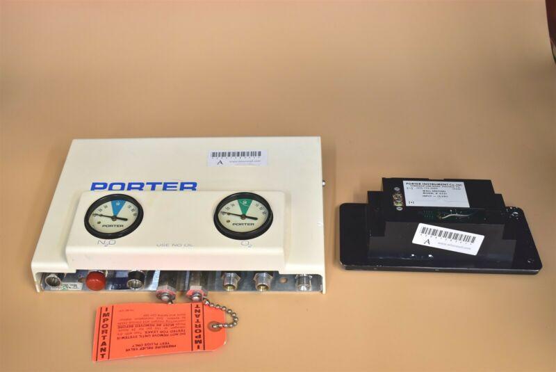 Porter  Sentinel System  Dental Nitrous Unit For Flowmeter Conscious Sedation