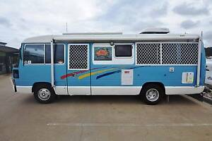 1988 TOYOTA COASTER 6CYL 4L DIESEL FULL ENSUITE MOTORHOME Gympie Gympie Area Preview