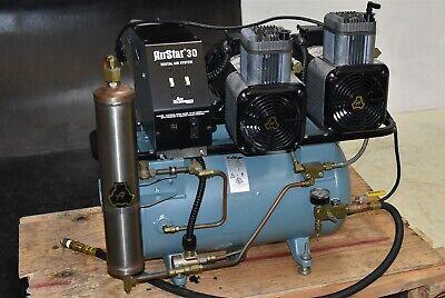 Air Techniques Airstar 30 Dental Air Compressor Unit 1.5 Hp Oil-free 2005
