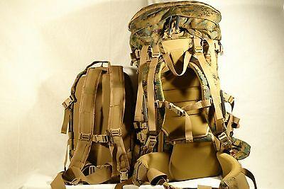 NEW Genuine USMC Marpat Gen II 2 ILBE Main Pack Assault Pack Hydration System