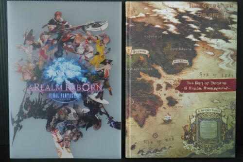 japan 83) Final Fantasy XIV A Realm Reborn The Art of Eorzea A Realm Reimagined