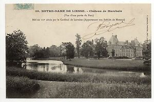Chateau de marchais par notre dame de liesse aisne cpa 02 for Marchais 02