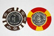 Silver Slipper Las Vegas Casino Chips