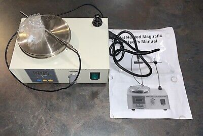 85-2 Magnetic Stirrer With Heating Plate Digital Hotplate Mixer Stir Bar 1000ml