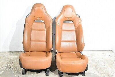 2014 Corvette C7 Stingray Front Kalahari Seats Leather Seat Aa6578