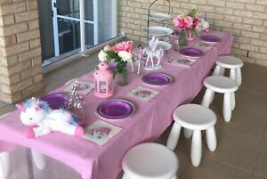 Magical Unicorn Girls Table and Chair Party Hire Package Upper Coomera Gold Coast North Preview