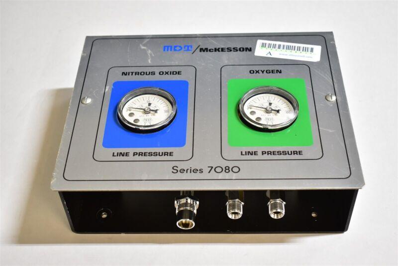 MDT/McKesson Series 7080 Dental Nitrous Unit for Flowmeter Conscious Sedation