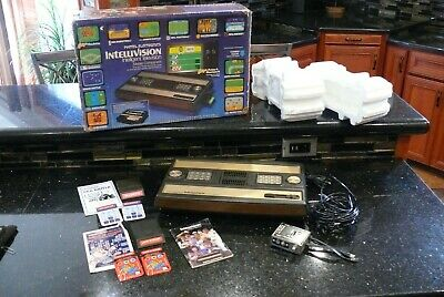 Mattel Intellivision Vintage Electronic  Computer Console Game System ✨2 Games✨