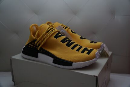 Adidas Hu NMD Pharrell Williams Yellow Human Race NMD BB0619