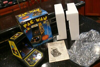 COLECO PAC MAN Vintage Electronic Handheld Arcade Tabletop Video game ✨IN BOX✨