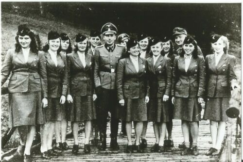 WW II German Photo <> -Female Concentration Camps Guards