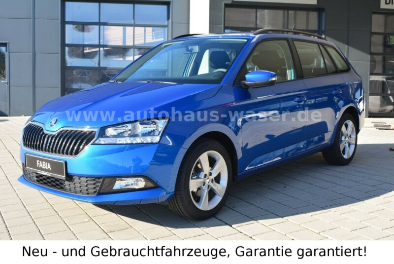 Skoda Fabia Combi 1.0 TSI Cool Plus Enjoy,SHZ,PDC,16',