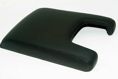 Fits 09-14 Acura TL Console Armrest Cover Synthetic Leather Black