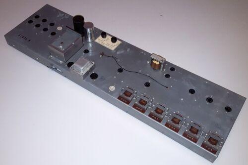 HAMMOND S6 ORGAN POWER AMPLIFIER TONE GENERATOR AO-30-1 TUBE AMP CHASSIS