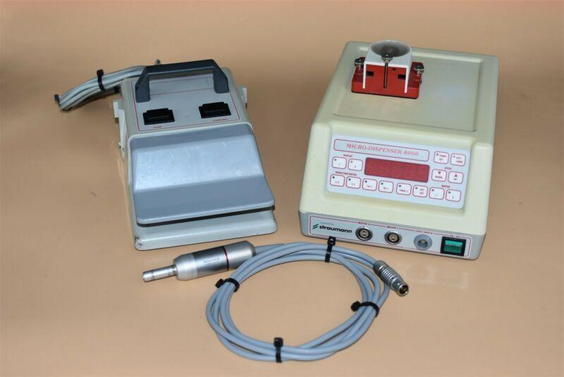 Straumann Micro Dispenser 8000 Dental Electric Control Console & Motor System