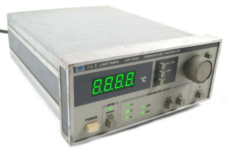 ILX Lightwave LDT-5910 Benchtop Thermoelectric Temperature Controller Unit