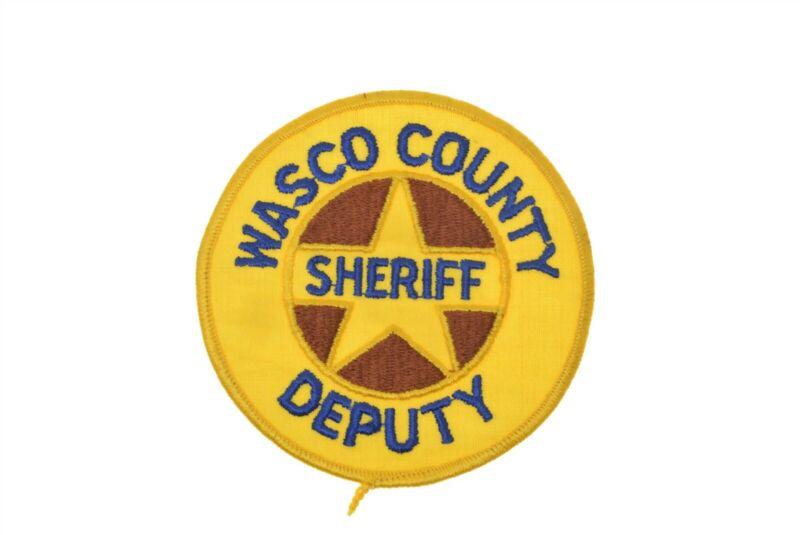 Oregon Police Patch WASCO COUNTY Sheriff Deputy