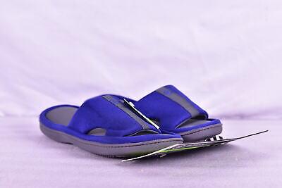Women's Isotoner Active Slide Slippers, Sapphire Blue, L (8.5 / 9)