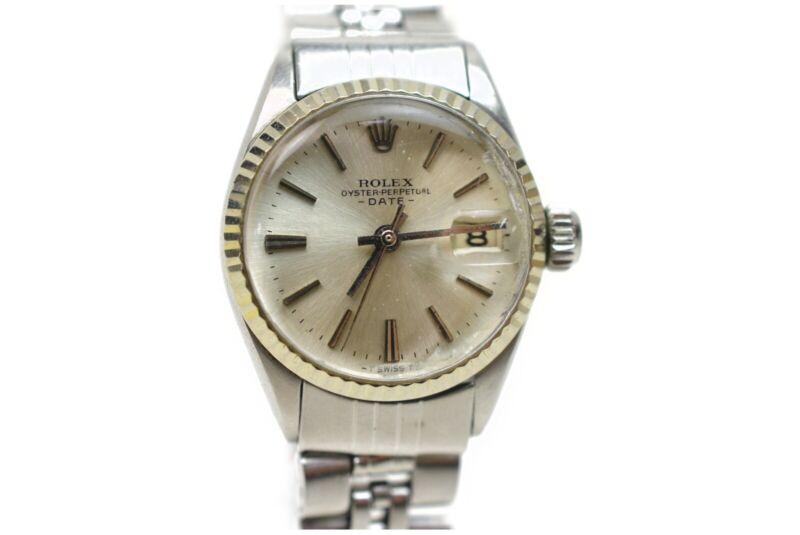 ROLEX Watch WG bezel 6517 22mm Automatic  Women's   Silver 828273