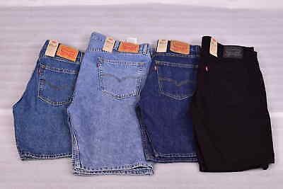 Men's Levis 505 Regular Fit Denim Jean Shorts - Choose Size & Color Cotton Jean Shorts
