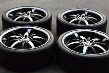 "Set of 20"" Geniune Rennen Wheels 5x120 suitable holden , BMW Dandenong South Greater Dandenong Preview"