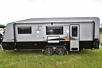 2015 20' OLYMPIC SEMI OFF ROAD SINGLE BEDS FULL ENSUITE CARAVAN Gympie Gympie Area Preview