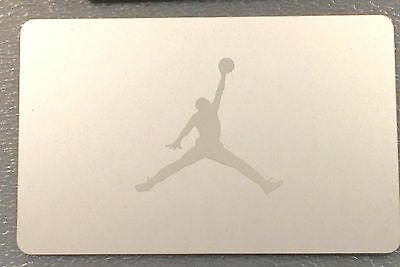 NIKE CANADA AIR Jordan JUMPMAN Silver on Silver gift card (no cash value)