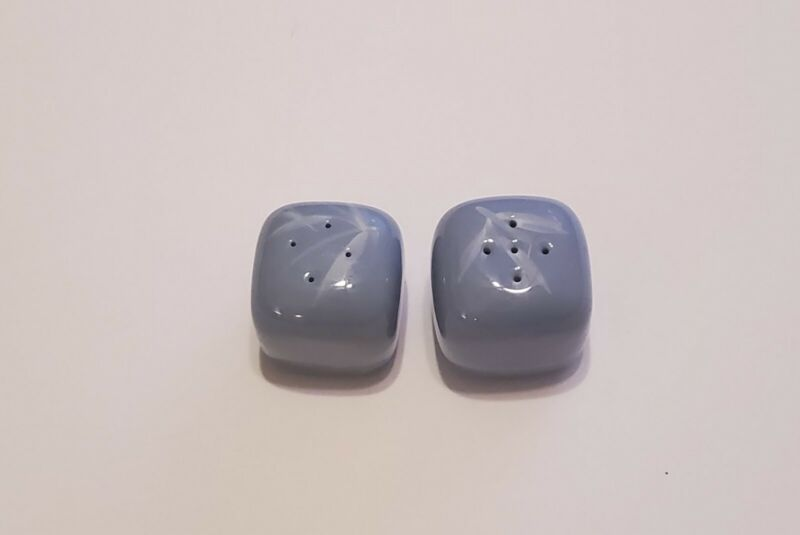 Winfield Blue Pacific Bamboo Square Salt And Pepper Shaker Set