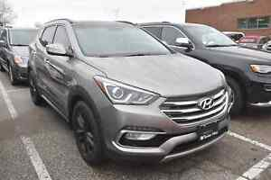 2017 Hyundai Santa Fe Sport 2.0T Limited NAVIGATION, LEATHER, PA