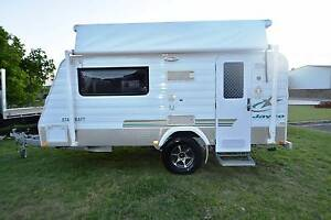 2010 14' JAYCO STARCRAFT OUTBACK SINGLE BEDS POPTOP CARAVAN Gympie Gympie Area Preview