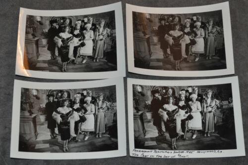 CLUE the Movie Original Cast on Set 1985 Photographs LOT of 4 RARE