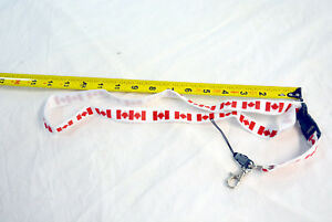 Canada lanyard key chain with detachable fob (#bte96)
