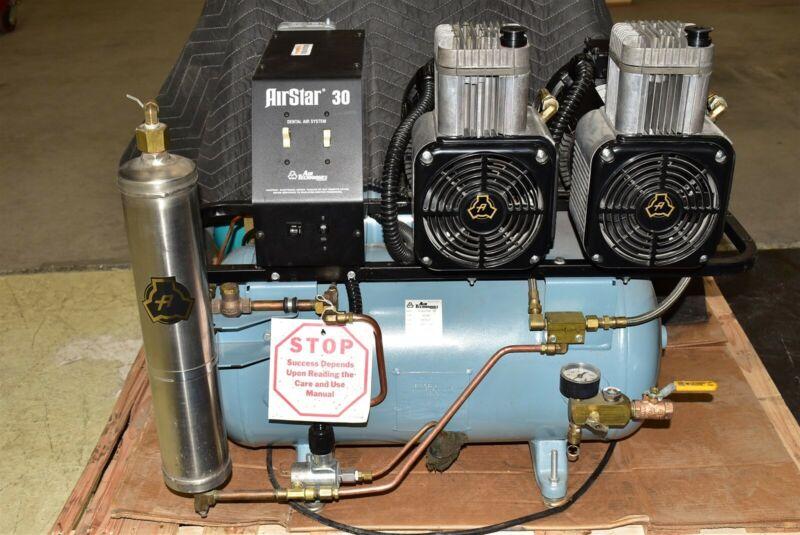 Air Techniques AirStar 30 Dental Air Compressor REFURBISHED w/ 1 YEAR WARRANTY