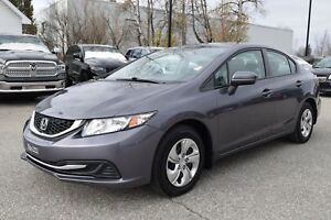 2015 Honda Civic DX+Bluetooth+démarreur+manuelle