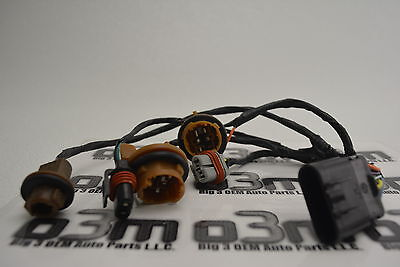 2006-2011 Buick Lucerne CX Front Headlight Wiring Harness new OEM 25809079