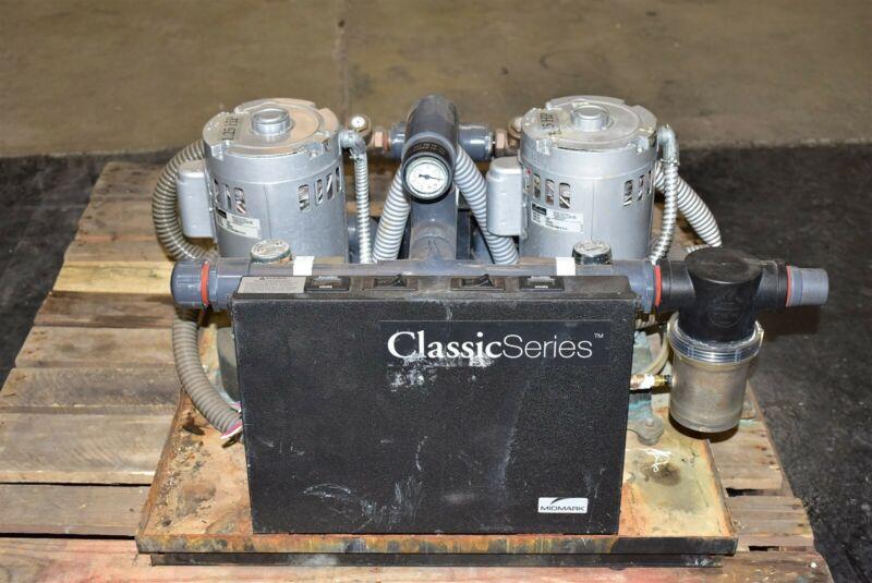 Midmark CV6R 2011 Dental Vacuum Pump System Operatory Suction Unit 220V