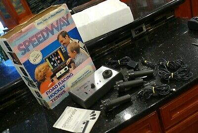 SEARS SPEEDWAY Tele Games Vintage Electronic Arcade TV Console Game System✨RARE✨