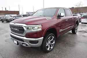 2019 Ram All-New 1500 Limited|4X4|NAV|LEATHER|PANO SUNROOF|SAFET