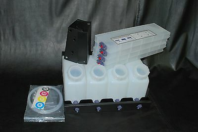 Vertical Bulk Ink System 4x4 For Roland Vs Model Printers. Us Fast Shipping