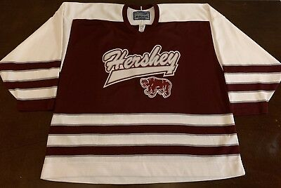 1fb52c941 Fan Apparel & Souvenirs HERSHEY BEARS ALTERNATE THIRD CCM PREMIER 7185  HOCKEY JERSEY SIZE LARGE
