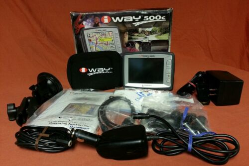 Lowrance iWAY 500C GPS Automotive Mountable Receiver