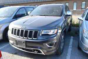 2014 Jeep Grand Cherokee Overland DIESEL,LEATHER, SUNROOF, ONLY