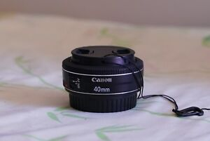 Canon 40mm f2.8 stm excellent condition