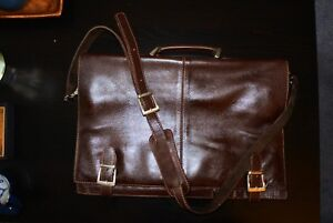 Leather bag. Almost new.