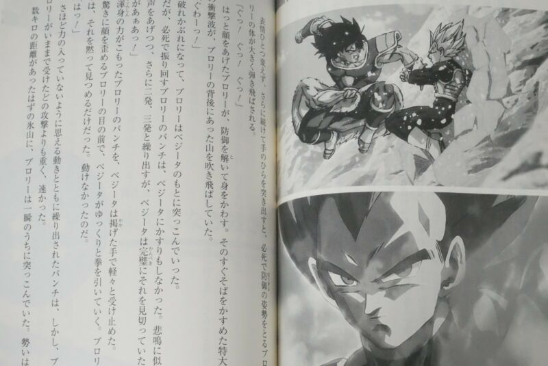 "Super Dragon Ball Heroes 4 pocket binder /"" Broly Version /"" Japan anime manga"