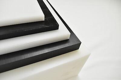 Black Delrin Acetal Copolymer Plastic Sheet 2-34 X 6 X 6