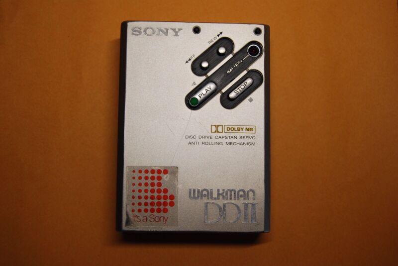 Sony Walkman WM-DD2 1984